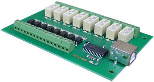 usb-opto-rly88-a Interfaces I/O