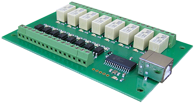 usb-opto-rly88-a Interfaces I/O