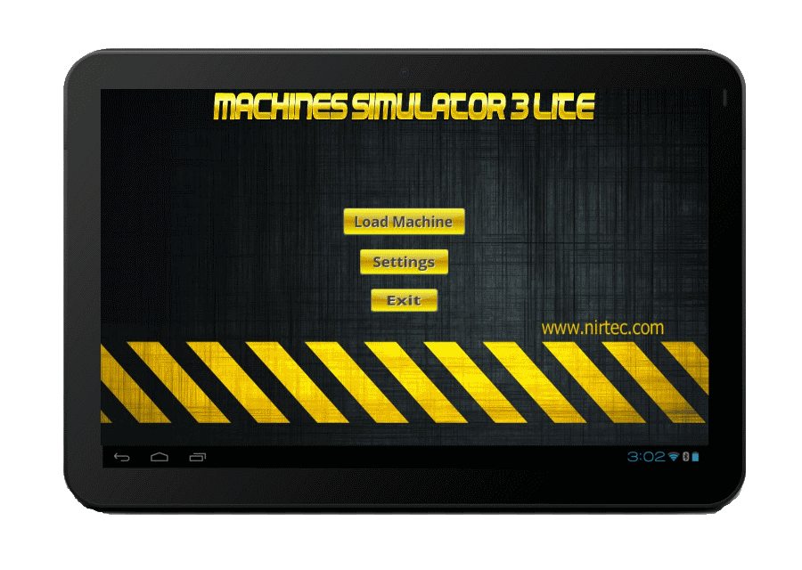 Machines Simulator Lite is compatible with Android devices
