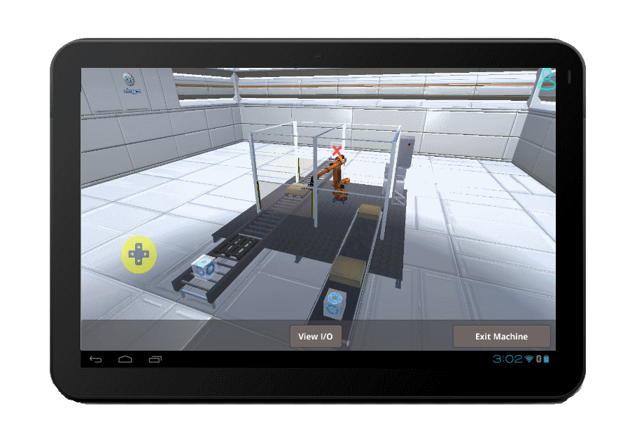 You can preview in simulation mode how the Machines Simulator Lite most to be operated.