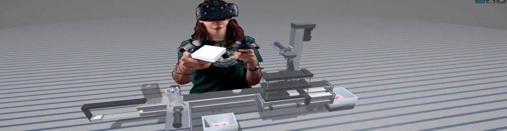 plc virtual simulator - VR