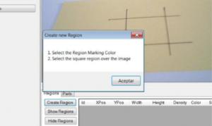 visual control regions